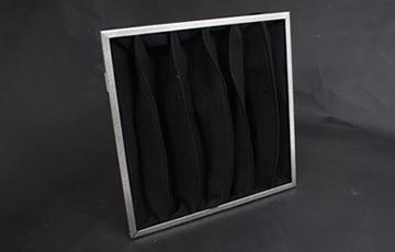 Carbon bag filters