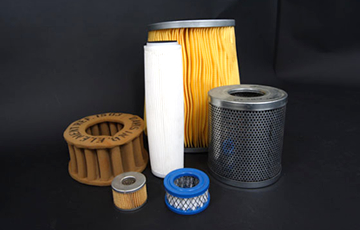 Oil, air & hydraulic filters & elements