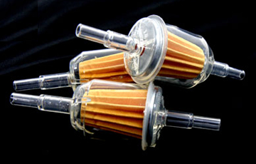 Inline cartridge filters