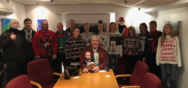 Midland Filtration Xmas Jumpers